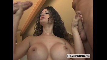 fucked two dicks getting Girl by