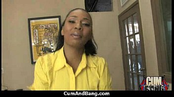 Real ebony babe getting hard core group making out 27
