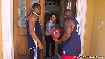 Horny Milf Takes On 2 Basketball Studs On Blackonmoms (Xa15362)