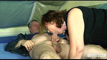 German milf suck a hard dick