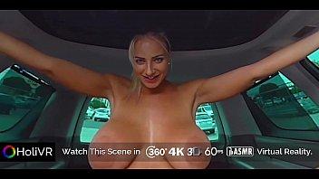 [HoliVR] Car Sex Adventure 100% Driving FUCK   360 VR Porn