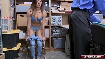 Officer fucks female who stole condoms