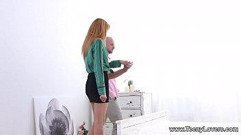 thumb Teeny Lovers Teen Model Secretary Lina Montan