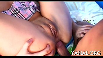 Muff and anal fucked mercilessly...