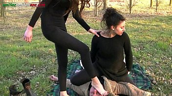 The Anna's Experiences Part 2 -Foot Worship Outdoor  #1141406