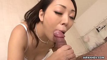 Sucking that thick cock like a real freaking pro