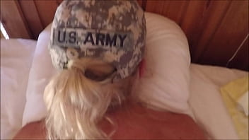 Fit blonde sold ier fucked by her drill sergea er drill sergeant