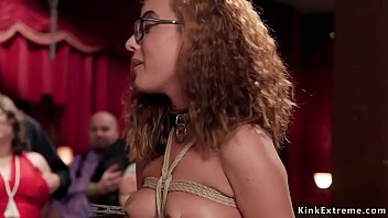 Hot babes rough banged at bdsm party