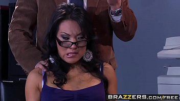 Big Tits at School - Dirty asain (Asa Akira) gets fucked by her professor - Brazzers