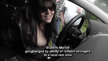 Streaming Video Hot wife gangbanged by random strangers at a rest area - XLXX.video