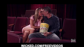 HOT blonde Sama ntha Saint meets her old BF at s her old BF at the movie theate