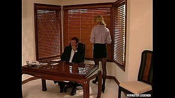 Hot Secretary Danielle Rogers fucked on office desk thumbnail
