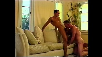 Gay break his ass on the couch