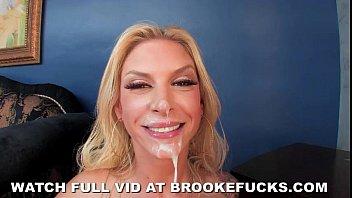 Brooke Banner Takes 2 Cocks