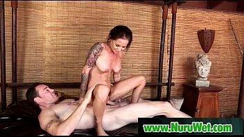 Sensual japanesse babe please her client with nuru massage 09