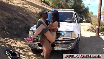 Police Ass Lick  The Crew Picked Up This Latin d Up This Latina Whore Who Was