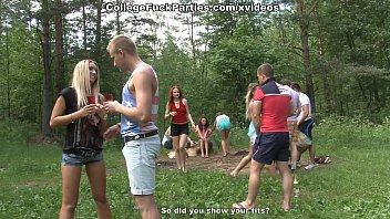 thumb Filthy College Sluts Turn An Outdoor Party Into Wild Fuck Fest Scene 2