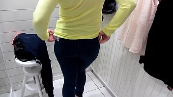 Pissing In The  Public Toilet And Undressing I nd Undressing In The Dressing Room At The Mall