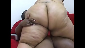 Horny BBW MILFs Farrah Foxx and Sabrina Love give each other pleasure with a strap on and toys