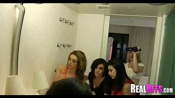 Girls night out leads to orgy 235