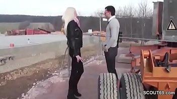 thumb Hot German Teen Seduce To Fuck Outdoor By Stranger