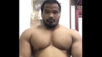 Massive Thai Bull Tags Muscle Bodybuilder Asian Beefy Massive Thick Pecs Pec Flexing Pec Bouncing Chest Posing Flexing Hunk Muscular Off Season...
