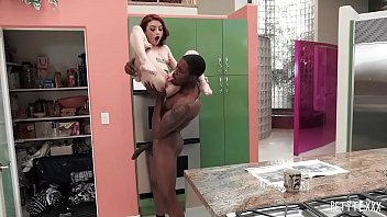 Tattooed Petite Hottie Lola Gets Carried Around And Impaled By A BBC