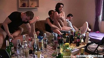 Czech Amateur Secret Groupsex Party