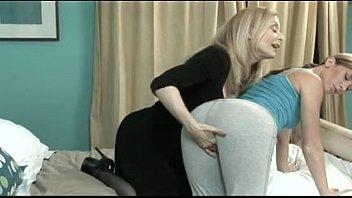 Ariel X fucked by her mom Nina Hartley
