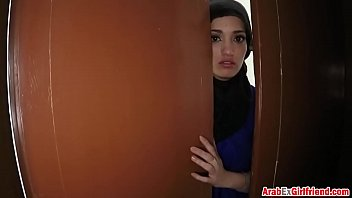 Beautiful Arab  Wife Left By Husband Decided T sband Decided To Sold Her Shaved Tight P For Sex 3