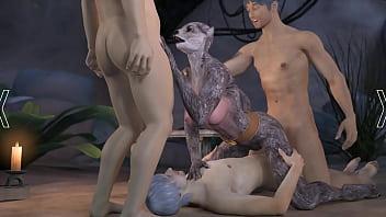 Monster thraldom porn...