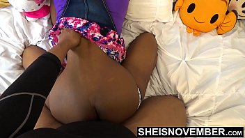 Thick Thighs Big Butt Hardcore Sex In 60 fps Slow Motion , African American Brown Babe Taking Rough Doggy Style From The Back , Hips Jiggling Top Point Of View Msnovember