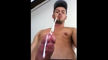 hot guy cumming