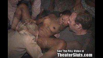 Cum Covered Theater Slut