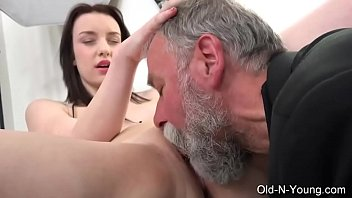 Old n Young com  Lenka C Old Guy Enjoys a Teen y Enjoys a Teen