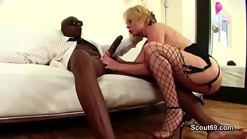 HOT MILF in Hard Anal fuck by black Mandingo Monster Dick