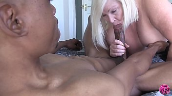 Asian babe Lucky Starr gets penetrated by a massive black cock