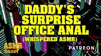 asmr daddy surprises you at work and fucks you in your office actual asmr audio