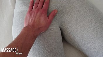 Streaming Video Touching her pussy in grey Yogapants - XLXX.video