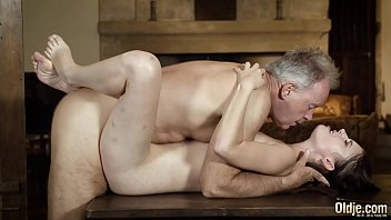 Old professor invites his young student for gay sex Mature