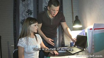 Watch video sex Sell Your GF Fucking Nesti for a new laptop HD