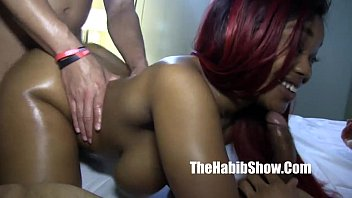 Thickred phat booty taking bbc long stroke freaks 3