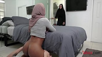 Ebony Sister In  Hijab Sins With Brother  Milu h Brother  Milu Blaze