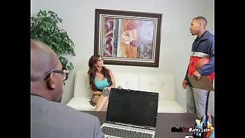 Hot Teacher Syren De Mer Loves Sucking Black Cocks