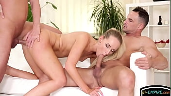 Bisexual hunk cumming while assfucked...