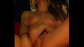 Sexy girl masturbates and squirts