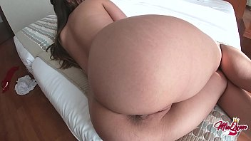 The Little Girl With A Big Butt Gets Fucked Good In Her Pussy With Her Lover's Awesome