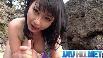 Download video sex new Megumi Haruka amazes in outdoor blowjob scene in TeensXxxMovies.Com
