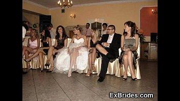 Wedding day upskirts...
