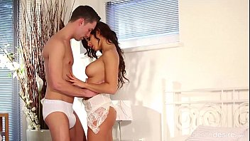 Lovely Brunette Maya Mona comes to audition